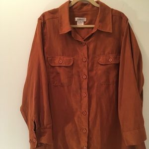 Roamans Sueded Shirt